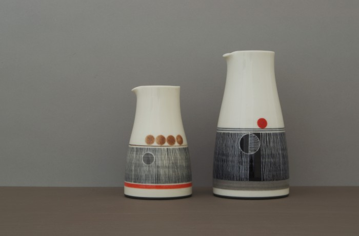 small and large dec pourers by James and Tilla Waters