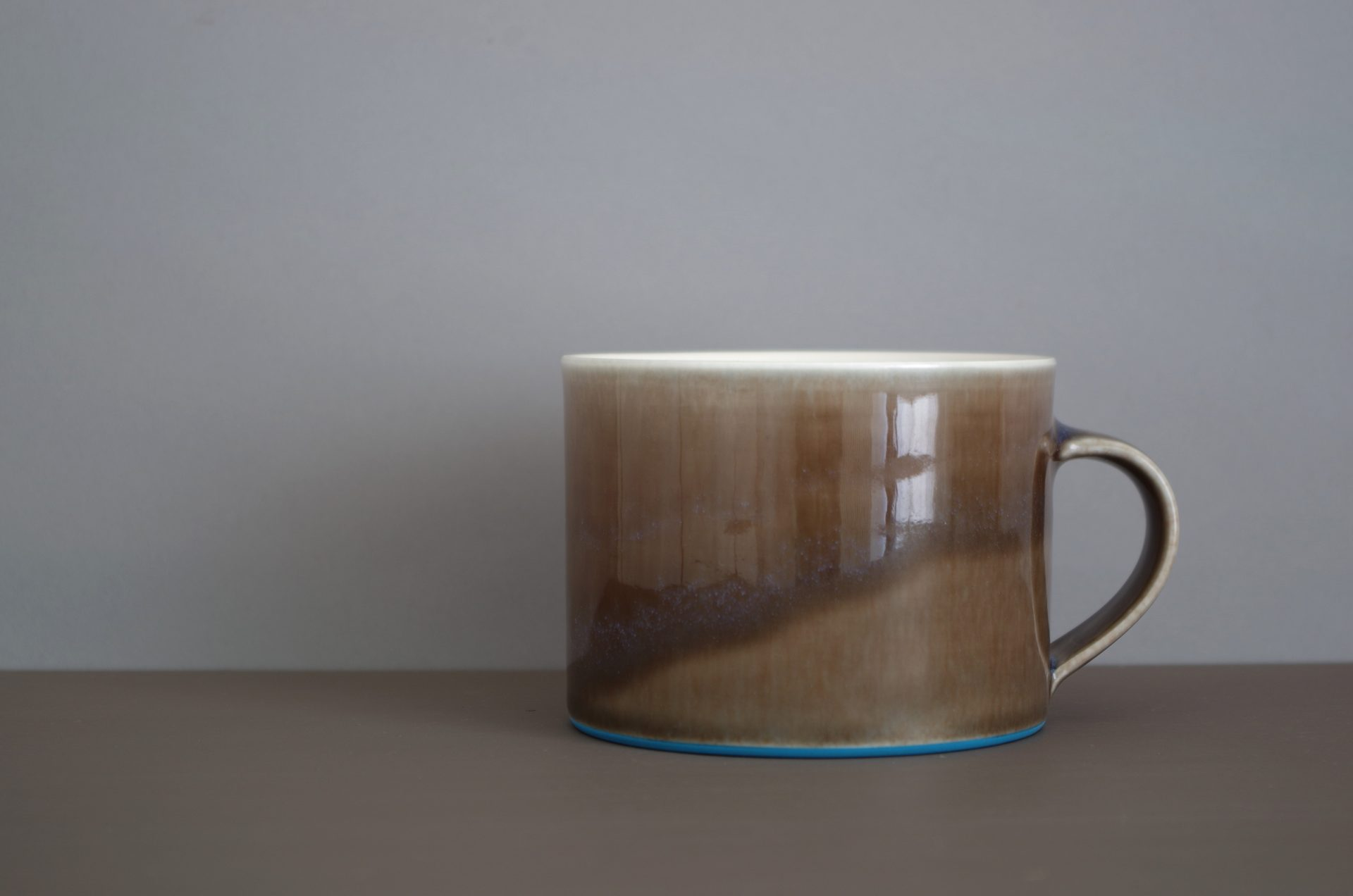 pond azure b'fast mug by James and Tilla Waters