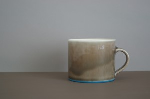 pond low coffee cup by James and Tilla Waters