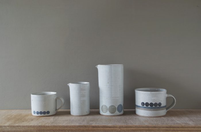 stoneware group by James and Tilla Waters
