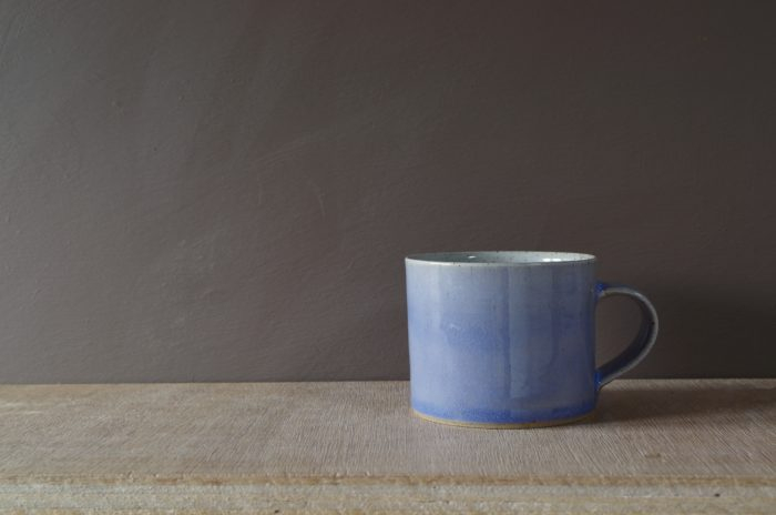 lilac breakfast mug by James and Tilla Waters