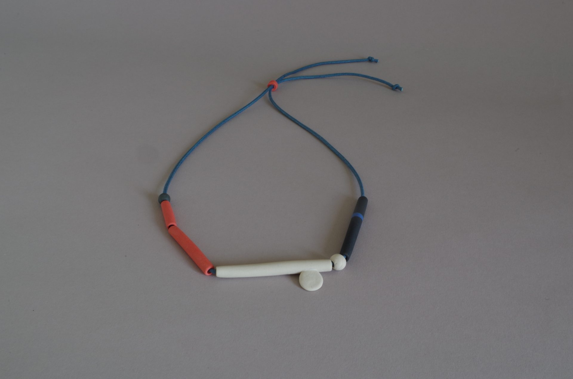 ceramic bead necklace by Tilla Waters